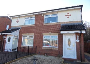 Thumbnail 2 bed semi-detached house for sale in Meadow Walk, Coatbridge