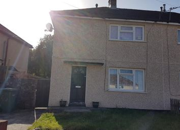 Thumbnail 2 bed semi-detached house to rent in Pearson Crescent, Glyncoch, Pontypridd
