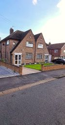 Thumbnail Semi-detached house for sale in Uplands Road, Oadby, Leicester
