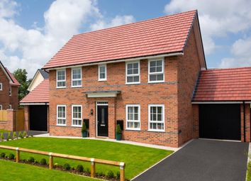 "Thumbnail 4 bed detached house for sale in ""Thornton"" at Shipbrook Road, Rudheath, Northwich"