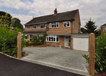 Thumbnail 3 bed semi-detached house for sale in Vicarage Crescent, Redditch