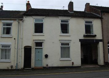 Thumbnail 4 bed terraced house for sale in Well Street, Newcastle-Under-Lyme