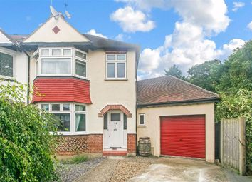 Thumbnail 4 bed end terrace house for sale in Glenn Avenue, Purley, Surrey