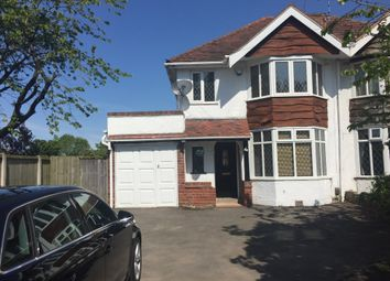 Thumbnail 3 bed semi-detached house to rent in Bills Lane, Shirley, Solihull