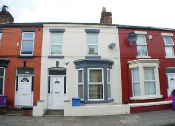 Thumbnail 3 bedroom terraced house to rent in Alderson Road, Wavertree, Liverpool