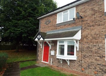 Thumbnail 1 bed end terrace house to rent in The Sycamores, Lichfield