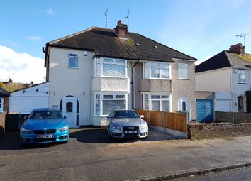 Thumbnail 3 bed semi-detached house for sale in Moat Avenue, Finham, Coventry