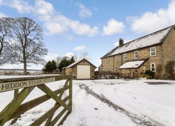 Thumbnail 3 bedroom semi-detached house for sale in Heddon Steads, Heddon On The Wall, Northumberland, Heddon Steads Cottage