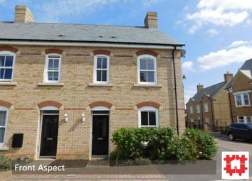 Thumbnail 3 bed end terrace house for sale in Charlotte Avenue, Stotfold, Herts