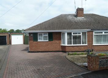 Thumbnail 2 bed semi-detached bungalow for sale in Findon Close, Bulkington, Bedworth