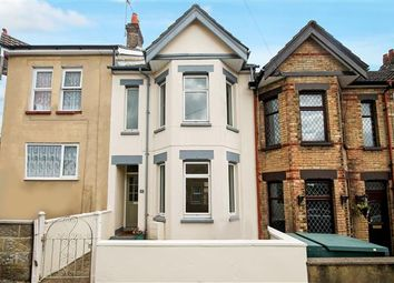 Thumbnail 3 bed terraced house to rent in Warren Road, Parkstone, Poole