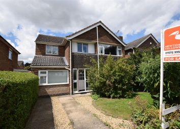 Thumbnail 4 bed detached house for sale in Burley Road, Cottesmore, Rutland