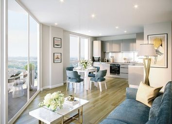 Thumbnail 1 bed flat for sale in Brook House, Brixton Hill, London