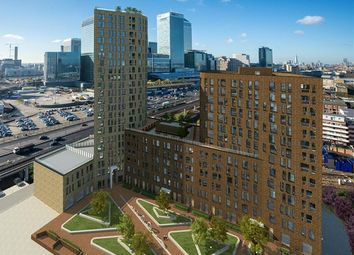 Thumbnail 1 bed flat for sale in Manhattan Plaza, Prestons Road, Canary Wharf