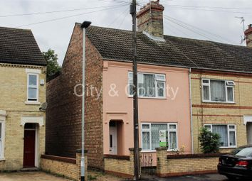 Thumbnail 3 bedroom end terrace house for sale in Granville Street, Peterborough