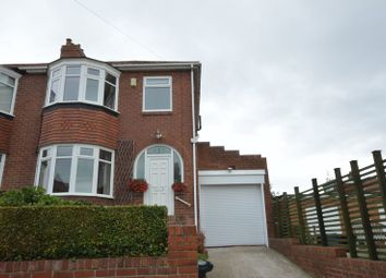Thumbnail 2 bed semi-detached house for sale in Woodbrook Avenue, Slatyford, Newcastle Upon Tyne