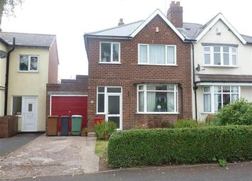 Thumbnail 3 bed semi-detached house to rent in Delves Crescent, Walsall