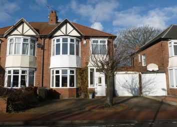 Thumbnail 3 bed semi-detached house to rent in Mountfield Gardens, Kenton, Newcastle Upon Tyne