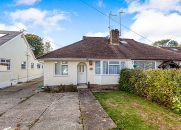 Thumbnail 2 bed semi-detached bungalow for sale in St Marys Drive, Pound Hill, Crawley