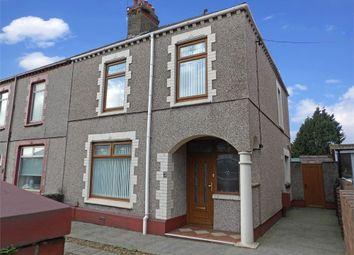 Thumbnail 2 bed semi-detached house for sale in Rhanallt Street, Port Talbot, West Glamorgan