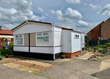 Thumbnail 1 bed mobile/park home for sale in Millbank Court, Station Road, Thirsk