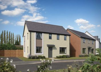 "Thumbnail 3 bed detached house for sale in ""The Clayton Corner"" at Bridge Road, Old St. Mellons, Cardiff"