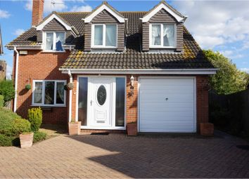 Thumbnail 4 bed detached house for sale in Pippin Gardens, Wisbech
