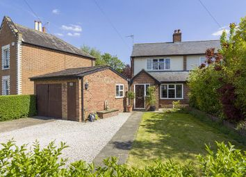 Thumbnail 3 bedroom end terrace house for sale in Rushett Close, Thames Ditton