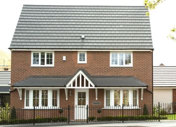 """Thumbnail 4 bedroom detached house for sale in """"Alnwick"""" at Blackthorn Crescent, Brixworth, Northampton"""