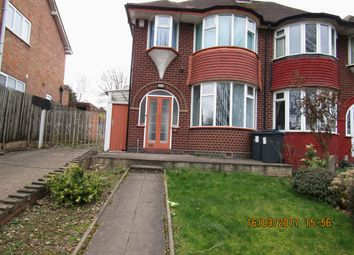 Thumbnail 3 bedroom semi-detached house to rent in Brigfield Road, Birmingham