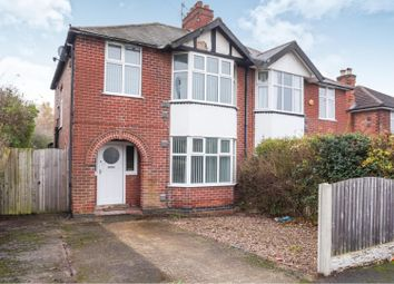 Thumbnail 3 bed semi-detached house for sale in Redhill Road, Arnold