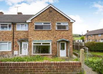 Thumbnail 3 bed end terrace house for sale in Fens Way, Swanley, Hextable, Kent