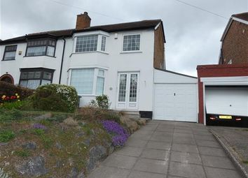 Thumbnail 3 bed semi-detached house to rent in Moat Lane, Yardley, Birmingham