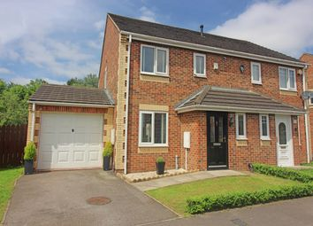 Thumbnail 3 bed semi-detached house for sale in Ullswater Avenue, Darlington