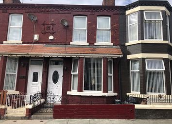 Thumbnail 3 bed terraced house for sale in Leicester Road, Bootle
