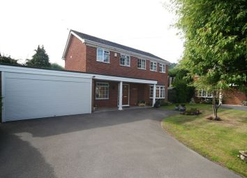 Thumbnail 4 bed detached house for sale in Holbrook Close, Farnham