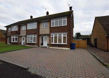 Thumbnail 3 bed semi-detached house for sale in The Geerings, Corringham, Essex