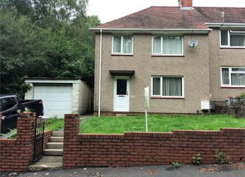 Thumbnail 3 bed semi-detached house to rent in Heol Y Fagwr, Clydach, Swansea, Swansea.