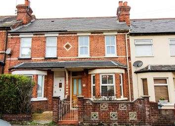 Thumbnail 2 bedroom terraced house for sale in Shaftesbury Road, Reading