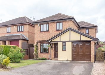 Thumbnail 4 bed detached house for sale in Ashby Close, Wellingborough