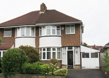 Thumbnail 3 bed semi-detached house for sale in Marcot Road, Solihull