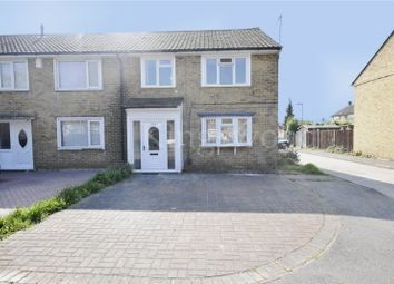 Thumbnail 3 bed end terrace house to rent in Witchards, Basildon, Essex