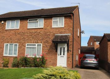 Thumbnail 3 bed semi-detached house for sale in Reinden Grove, Downswood, Maidstone