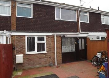 Thumbnail 3 bed terraced house for sale in Sandwich Road, St. Neots, Cambridgeshire