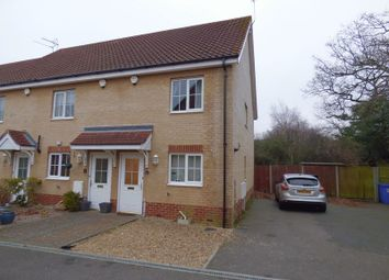 Thumbnail 3 bedroom terraced house for sale in Field Grange, Lowestoft