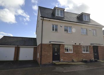 Thumbnail 3 bed town house for sale in Merlin Road, Bishops Green, Newbury, Berkshire