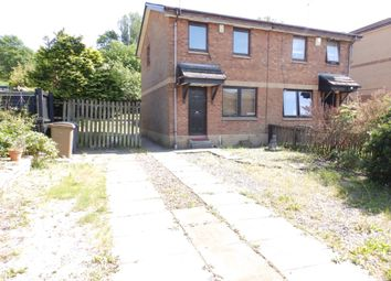 Thumbnail 2 bed semi-detached house for sale in Glencoats Drive, Paisley, Renfrewshire