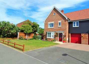 Thumbnail 4 bed semi-detached house for sale in Red Barn Road, Brightlingsea, Colchester