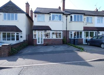 Thumbnail 3 bed end terrace house for sale in Jockey Road, Sutton Coldfield