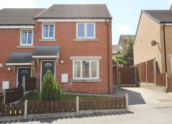Thumbnail 3 bed semi-detached house for sale in Wentcliffe Road, Knottingley, West Yorkshire